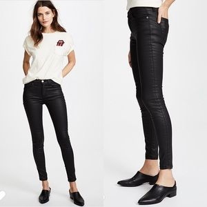 Current Elliot High Waist Ankle Skinny Jean